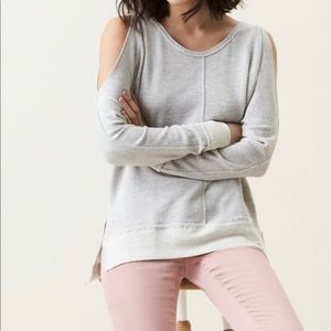 Caslon Cold Shoulder Sweatshirt